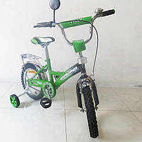 "Велосипед EXPLORER 14""  green + black"