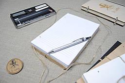 Линованная бумага  для блокнота Формата А5.
