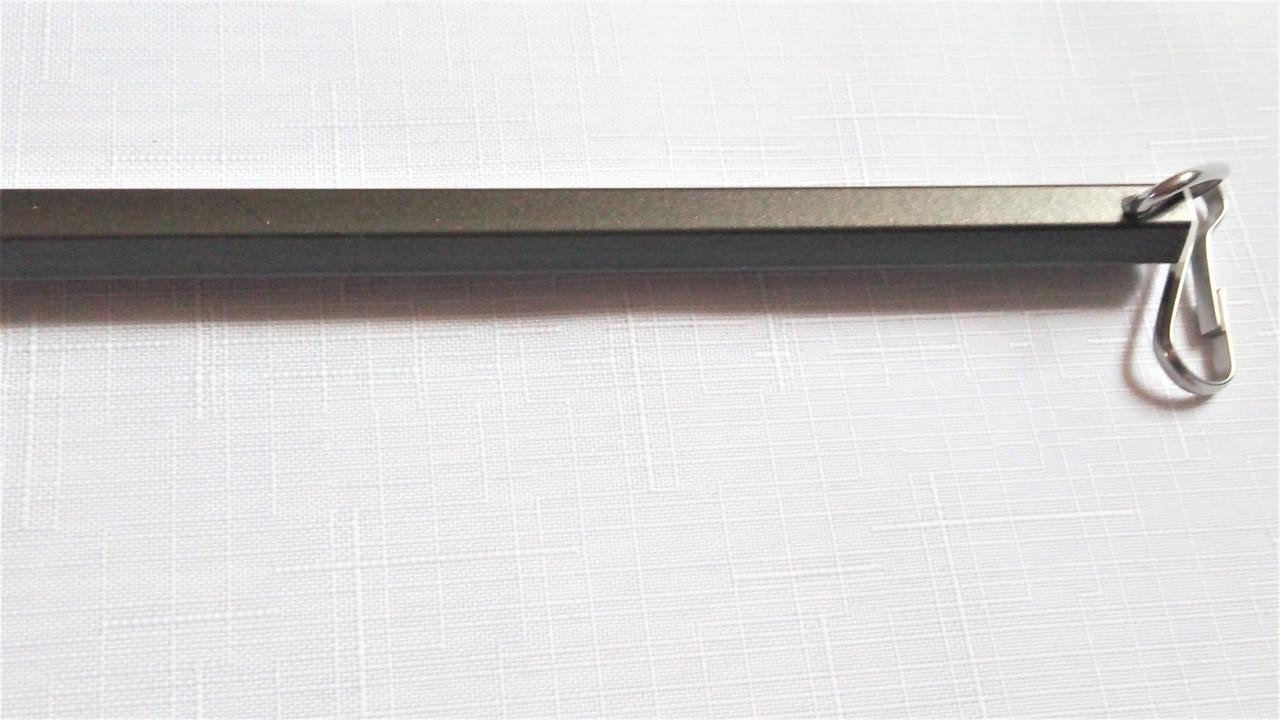 Палочка для штор алюминиевая Forest (антик темный) 122см