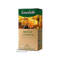 Черный Чай Greenfield Honey Linden (25 шт) Липа с Мёдом
