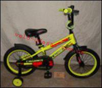 Детский двухколесный велосипед JK-717 CROSSER 16 дюймов, фото 1