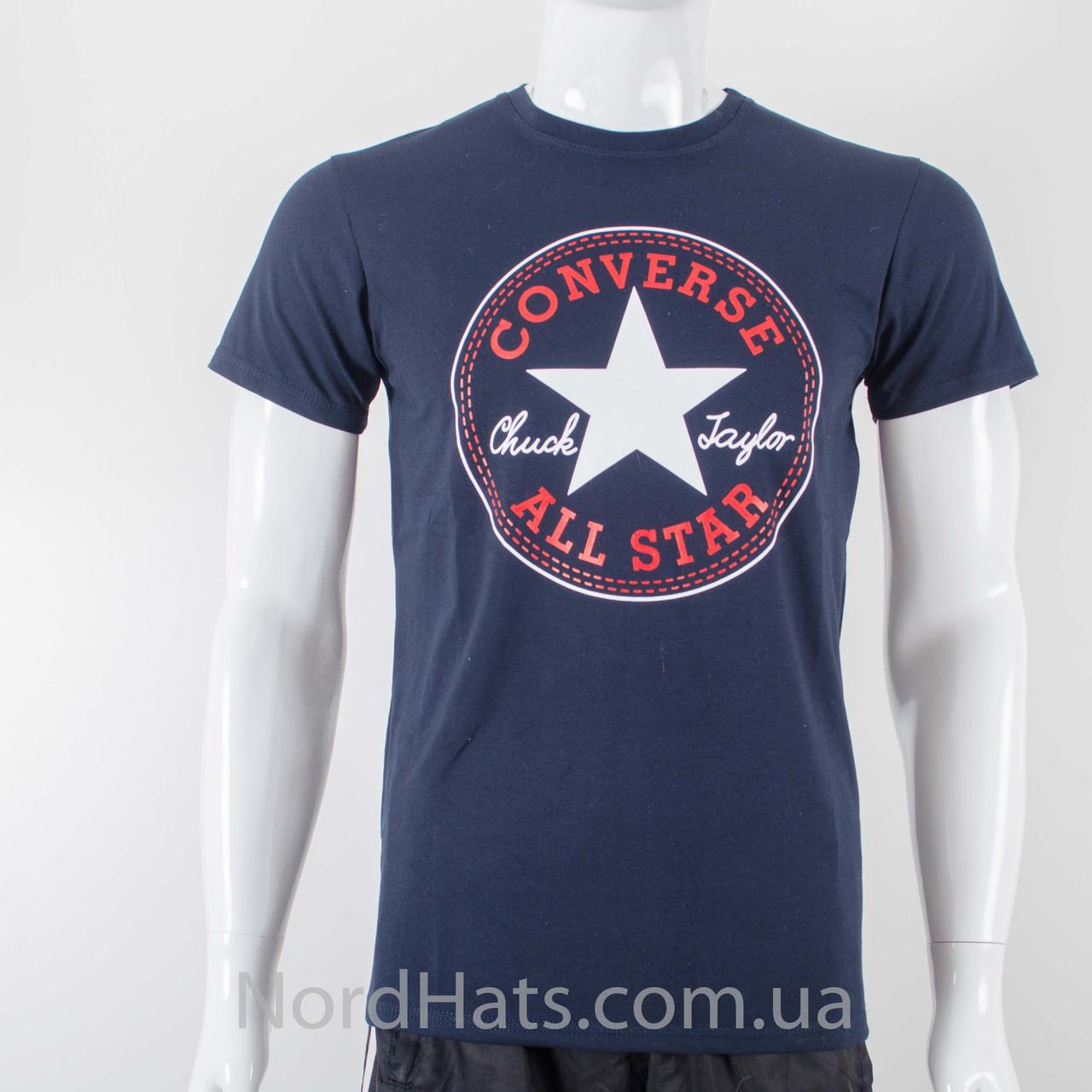 Футболка с логотипом, Converse (Темно-синий)