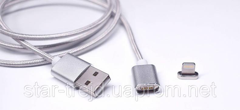 Магнітний кабель для зарядки iPhone / iPad