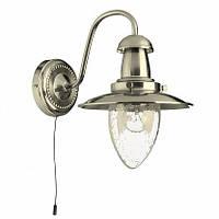 Бра Arte Lamp Fisherman A5518AP-1SS, фото 1