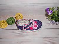 Текстильные мокасины для девочки р23 Тм Bluerama