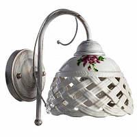 Бра Arte Lamp Wicker A6616AP-1WG, фото 1