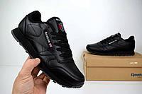 Мужские кроссовки Reebok Classic, цвет - черный