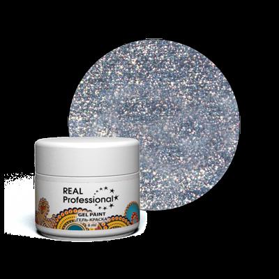 Гель-краска Real Professional Серебристый иней (34.20)