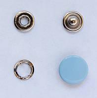 Кнопки пуговицы 15 мм голубого цвета