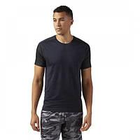 Легкая мужская футболка для спорта Reebok ACTIVCHILL Jacquard CF7870 - 2018