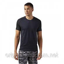 Легкая мужская футболка для спорта Reebok ACTIVCHILL Jacquard CF7870