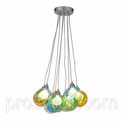 Подвесная светодиодная люстра Arte Lamp Pallone A3026SP-9CC