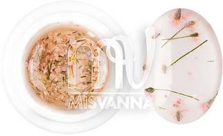 Гель с сухоцветом 5 г №4 бледно-розовый