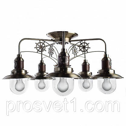 Стельова люстра Arte Lamp Sailor A4524PL-5AB