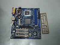 Материнская плата S775 AsRock 775VM800 DDR1 AGP, фото 1
