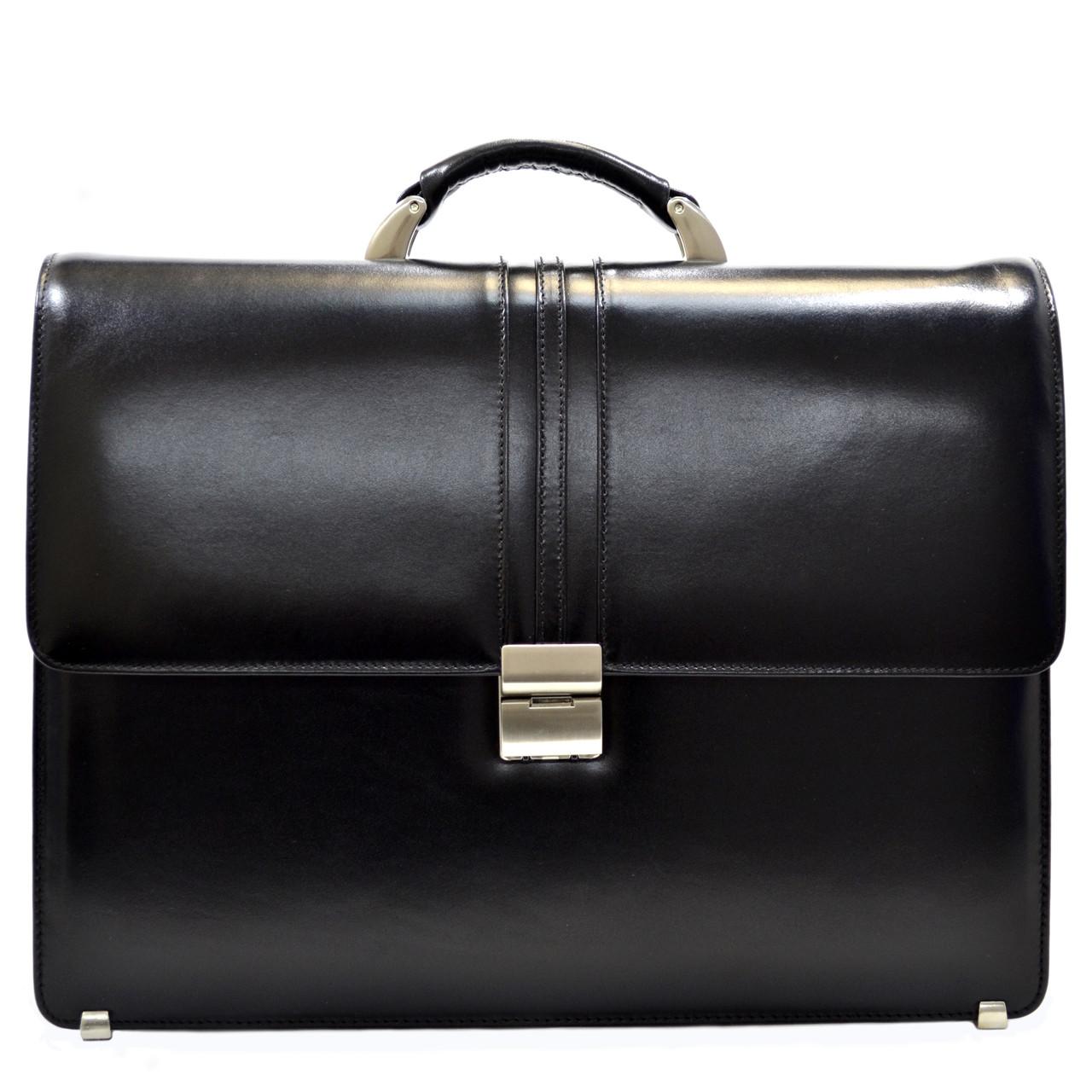 Кожаный портфель DESISAN