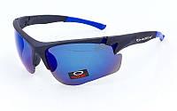 Очки спортивные солнцезащитные OAKLEY MS-8870 (синий)