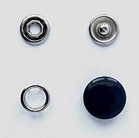 Кнопки пуговицы 15 мм темно-синего цвета
