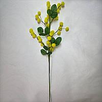 Искусственные цветы Букет Мимозы (6 шт)