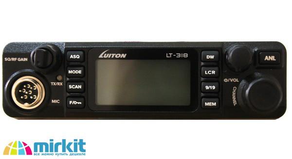 Автомобильная радиостанция LUITON LT-318 / Автомобільна радіостанція LUITON LT-318