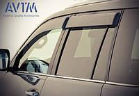 Дефлекторы окон (ветровики) Toyota Land Cruiser Prado 150/Lexus GX460 2009- (широкие), фото 1