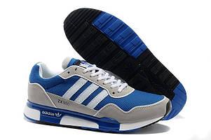 Кроссовки мужские Adidas ZX-900 синие с серым