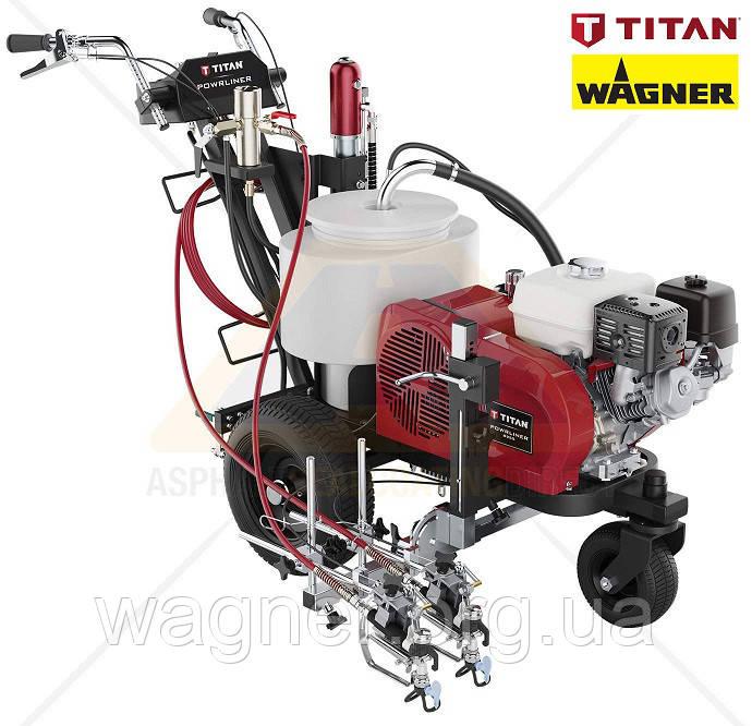 Машина для нанесения дорожной разметки TITAN (Wagner) PowrLiner 8955