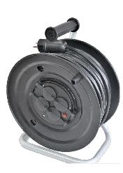 Электрический удлинитель на катушке без з/к  40м (ПВС 2*1,5)ТМ ФЕНИКС