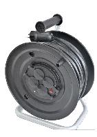 Электрический удлинитель на катушке без з/к  25м (ПВС 2*2,5)ТМ ФЕНИКС