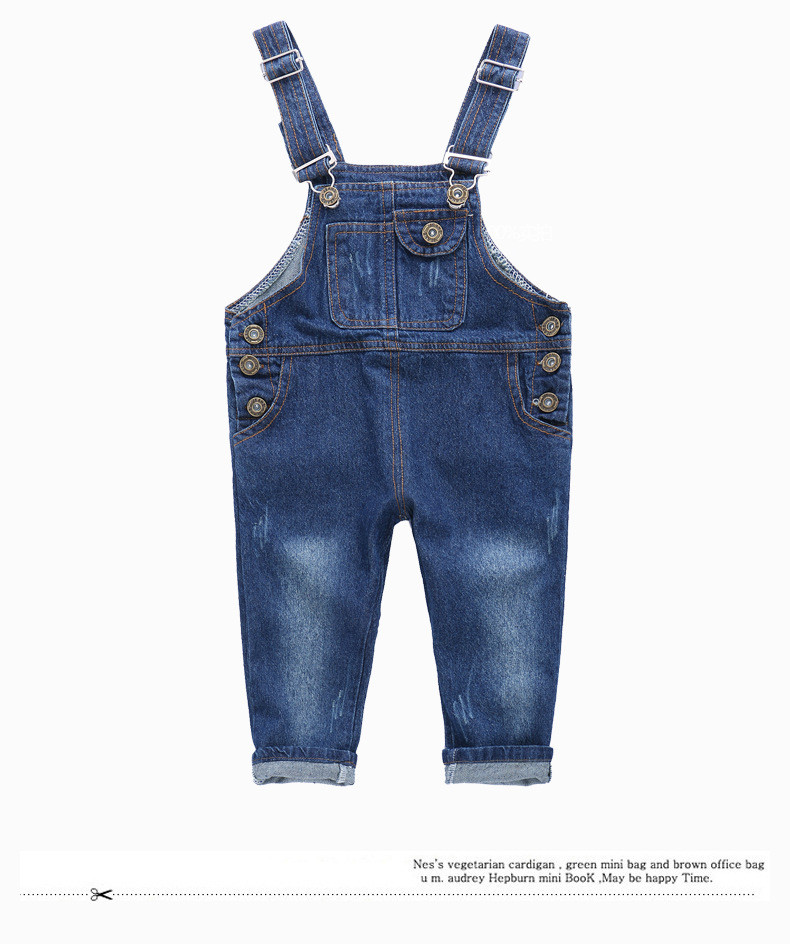 Комбинезон джинсовый Прогулка 80,85,90,100,110,120