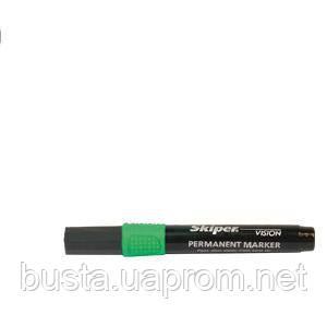 Маркер Skiper перманентный зелёный, фото 2