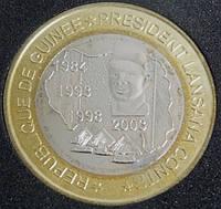 Монета Центральноафриканскаой Республики (Гвинея) 6000 франков 2003 г.