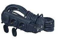 Электрический удлинитель(КОЛОДКА-Вилка) без з/к 5м (ПВС 2*2,5)ТМ ФЕНИКС