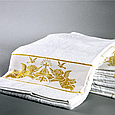 Машинная вышивка на полотенцах , фото 3