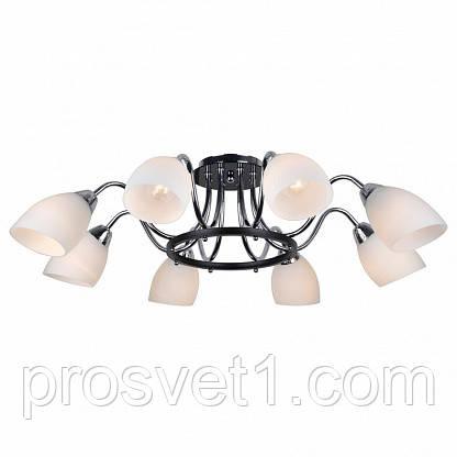 Потолочная люстра Arte Lamp Florentino A7144PL-8BK