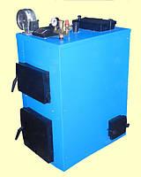 Твердотопливный котел УкрТермо серия 300 мощностью 46 кВт