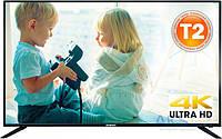 LED ТЕЛЕВИЗОР  4К Romsat 49UMC1720T2 с встроенным приемником эфирного цифрового ТВ