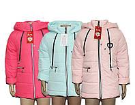 Куртки детские для девочки демисезонные Рубин, фото 1