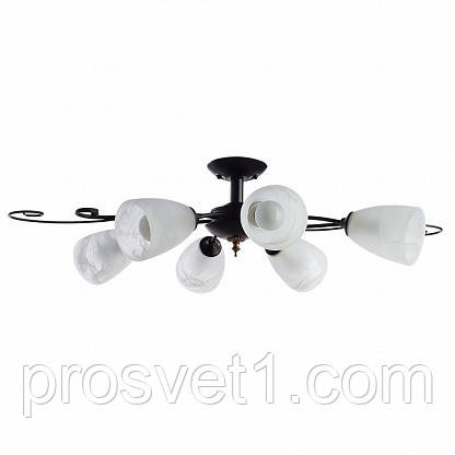 Потолочная люстра Arte Lamp Rondo A7310PL-6BR