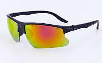 Очки спортивные солнцезащитные 799 (черный)