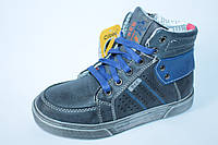 Демисезонные ботинки на мальчика тм Clibee, р. 32,33,37, фото 1