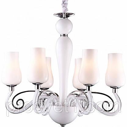 Подвесная люстра Arte Lamp Biancaneve A8110LM-6WH