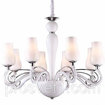 Підвісна люстра Arte Lamp Biancaneve A8110LM-8WH