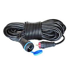 Электрический удлинитель(ГНЕЗДО-Вилка) с з/к 20м (ПВС 3*2,5)ТМ ФЕНИКС