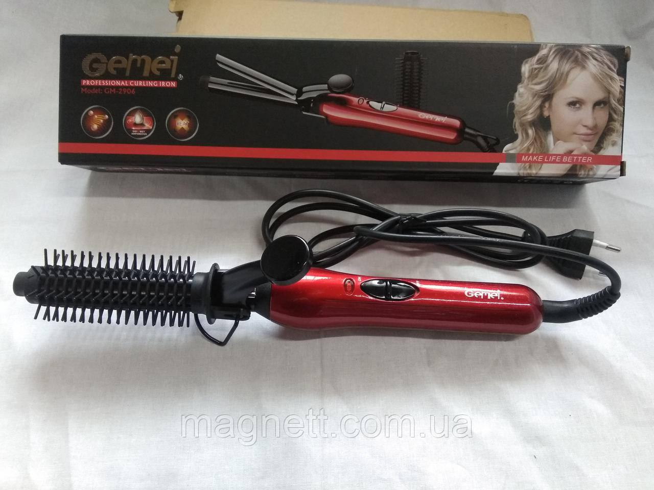 Плойка для завивки волос Gemei GM-2906