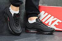 Кроссовки Nike Air Max 97 (черные с красным) кроссовки найк nike