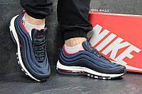 Кроссовки Nike Air Max 97 (темно синие с белым) кроссовки найк nike