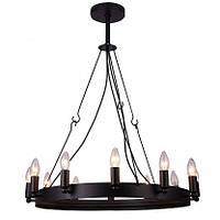 Подвесная люстра Arte Lamp Bastiglia A8811SP-12BK