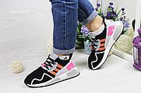 Кроссовки Adidas Equipment ADV 91-17 (черно серые с розовым) женские кроссовки адидас adidas