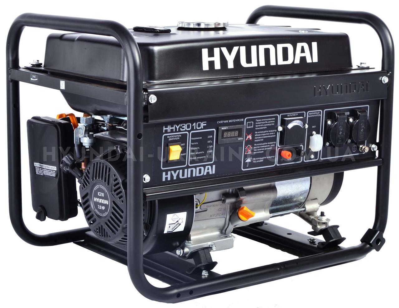 Генератор HYUNDAI HHY 3010F